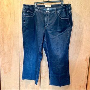 Sz 26 JMS medium wash boot cut jeans